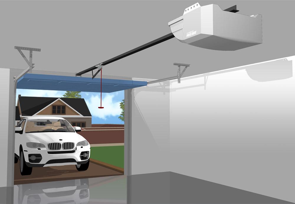 Chamberlain Power Drive GPD60 Automatic Electric Garage ...